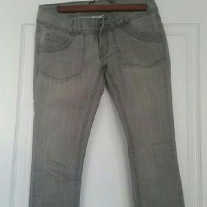 Ripcurl skinny jean grey  size 5